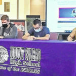 Three Mount Gilead seniors commit to military service