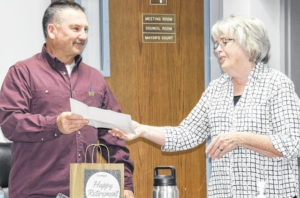 Wood recognized for service