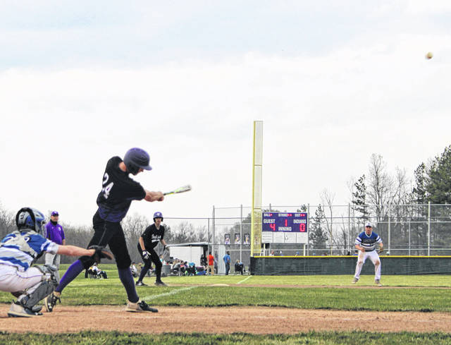 Mount Gilead's Paul Butterman helped his team beat Danville Wednesday both at the plate and on the mound.