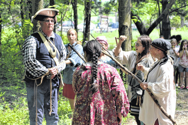 The capture and death of Col. William Crawford will be reenacted during Living History Days, set for Friday through Sunday, June 4-6 at Lowe-Volk Park, 2401 Ohio 598, Leesville. The event will feature historical reenactments, Native American storytellers, American Revolutionary War era native and military encampments, and period artisans. Living History Days begins at 8 p.m. on June 4 and will be open from 9 a.m. to 4 p.m. on June 5 and from 10 a.m. to 4 p.m. on June 6. Admission is free.