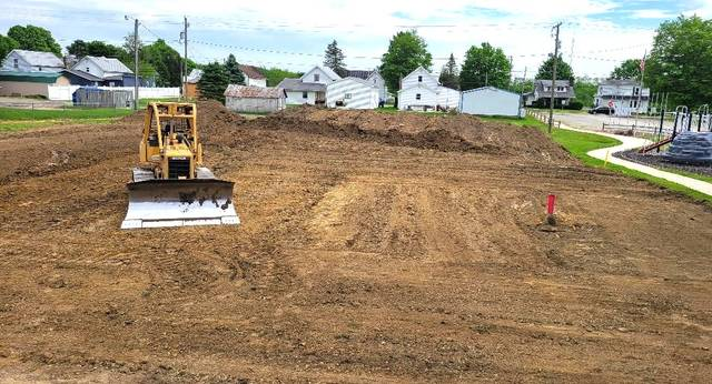 The village of Marengo elected to use the state funds to improve the Village Park. Work has begun and a ribbon-cutting ceremony is expected to be scheduled for late July.