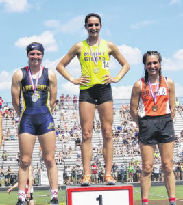 Mount Gilead girls' track finishes second at state meet