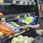 Fresh produce is popular at Marengo store