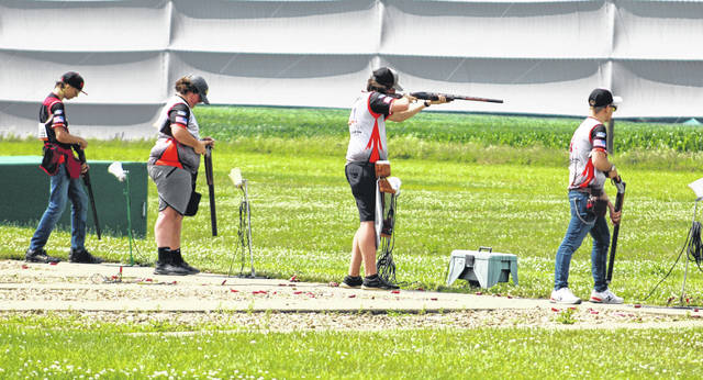 Youth shooters were at Cardinal Center earlier in July for the SCTP Nationals.