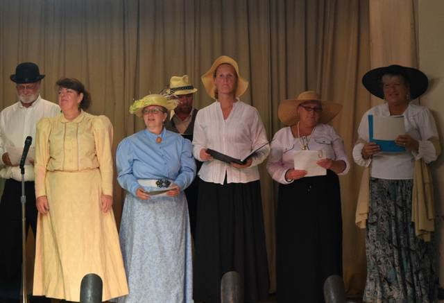 Doc Chester's Medicine Show, a vaudeville-style musical, will take the stage at 7 p.m.