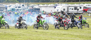 Vintage motorcycles see action at Mid-Ohio