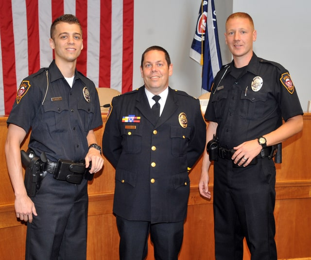 City welcomes new officers - Piqua Daily Call