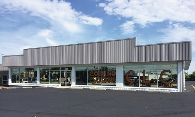 Courtesy photo Christian Life Center (CLC) is set to be the newest tenant at the Ruso Business Center, 8620 N. County Road 25-A, Piqua. CLC, which currently holds services in the banquet room at the Miami Valley Centre Mall, hopes to move into a 13,8000-square-foot space at the business center in September.