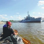 River travelers arrive in New Orleans