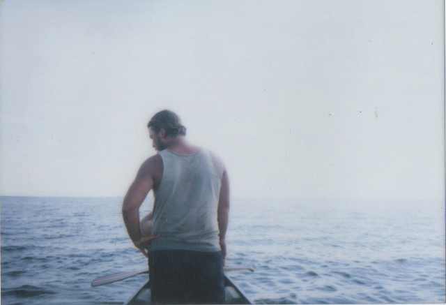 Alex Ross contemplates the end of the journey, which began May 20 in Minnesota and finished Monday evening in the Gulf of Mexico.