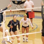 Lady Chargers make point
