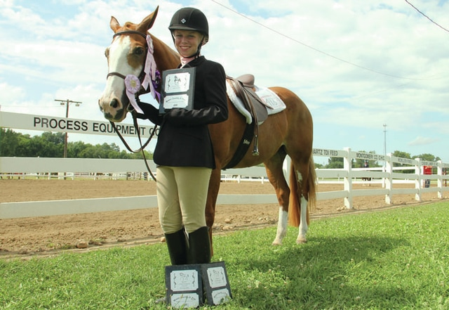 Jessica Copeland, 14, of Casstown, won Reserve Grand Champion Western Showmanship for all ages, Champion Western Horseman for ages 14-15, and Reserve Grand Championship Western Horsemanship for all ages. She is with the Horses N More 4-H Club and her parents are Rick and Stephanie Copeland.