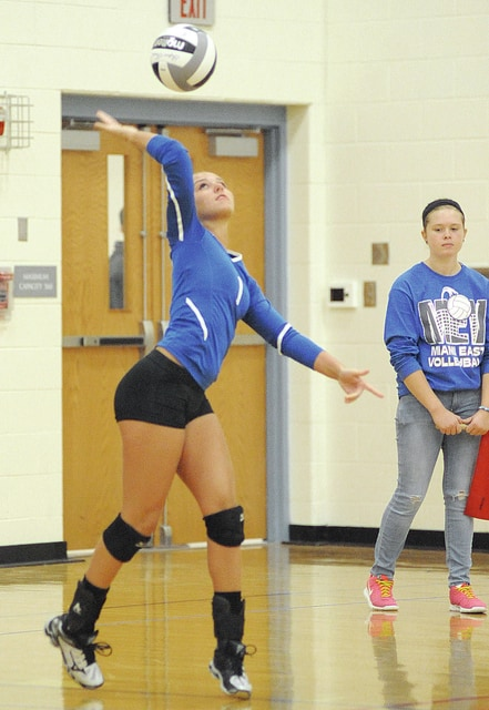 Civitas File Photo Lindsey Black will be serving up more aces for Miami East.