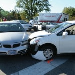 4-car crash at UVMC entrance