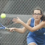 Lehman netters compete at sectional