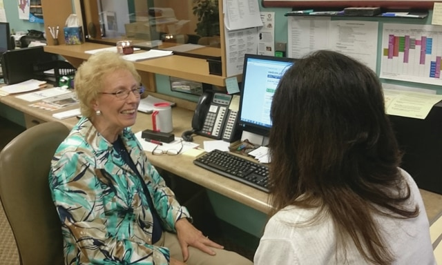 Provided photo Lois Wiggin, patient assistance program advocate at the clinic, is now certified as a Medicare counselor through the Ohio Senior Health Insurance Information Program.