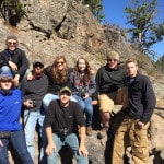 Career Center students visit Yellowstone
