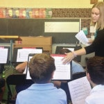 Piqua Catholic teacher enjoys teaching students music
