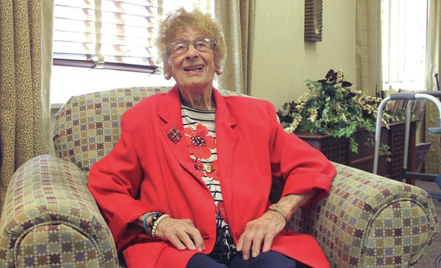 Roma Kiser, of Piqua, shared her favorite memories and words she has lived by in her 106 years of life. Kiser will be celebrating her 107th birthday Friday, Sept. 11.