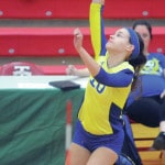 Lehman volleyeball cruises to tournament win