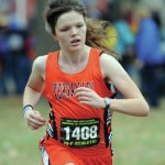 Russia, Covington, East girls cross country, Knepp, Zimmerman advance to state