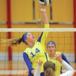 Lehman volleyball wins D-IV district title