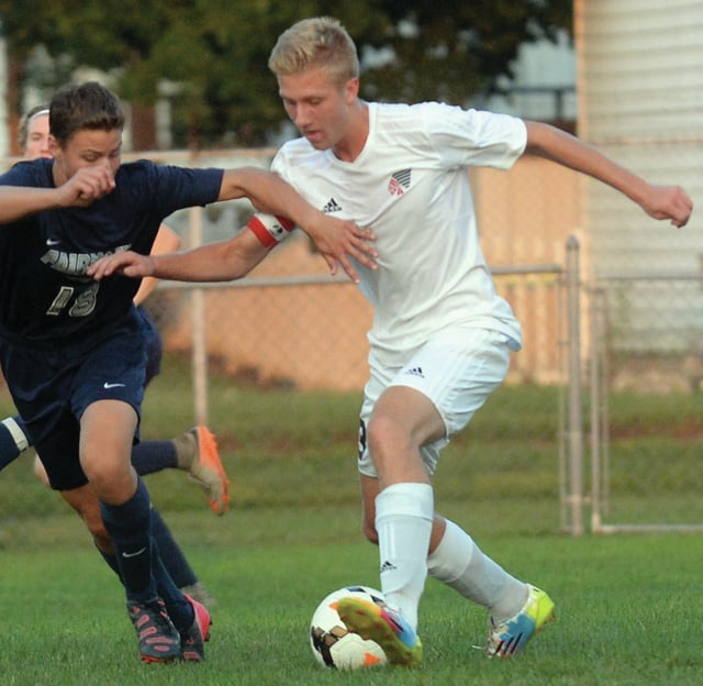 Mike Ullery/Daily Call Piqua's Bradley Hohlbein led the GWOC in goals and scoring this season.