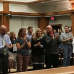 Fire chief sworn in, firefighters recognized