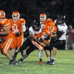 Covington football responds in big way against National Trail