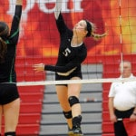 Covington volleyball loses to Catholic Central