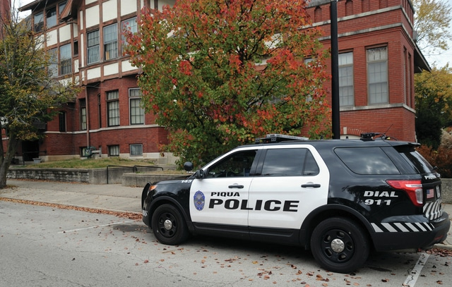 Mike Ullery   Daily Call Piqua police, with assistance from other local agencies, executed a search warrant at 124 W. Greene St. early Thursday morning. The location is the former home of the Flesh Public Library.