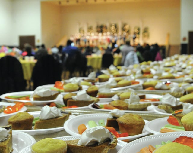 Mike Ullery | Daily Call Students, as well as adults, are preparing for Thanksgiving feasts as families across the area gather to celebrate Thanksgiving.
