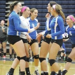East spikers not looking ahead