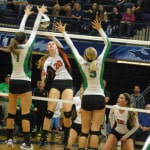 Versailles volleyball team loses 3-1 to Newark Catholic in OHSAA tournament match