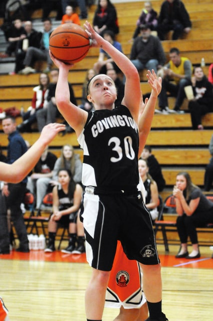 Call File Photo Jamie Crowell is back for the Covington girls