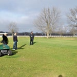 Fore-th of December golf