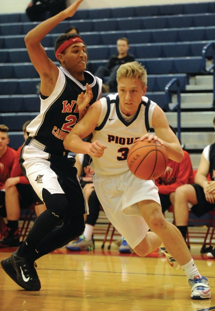 Mike Ullery | Daily Call Bradley Hohlbein, 3, drives past the West Carrolton defense.