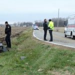 Roll-over crash on Lytle Road