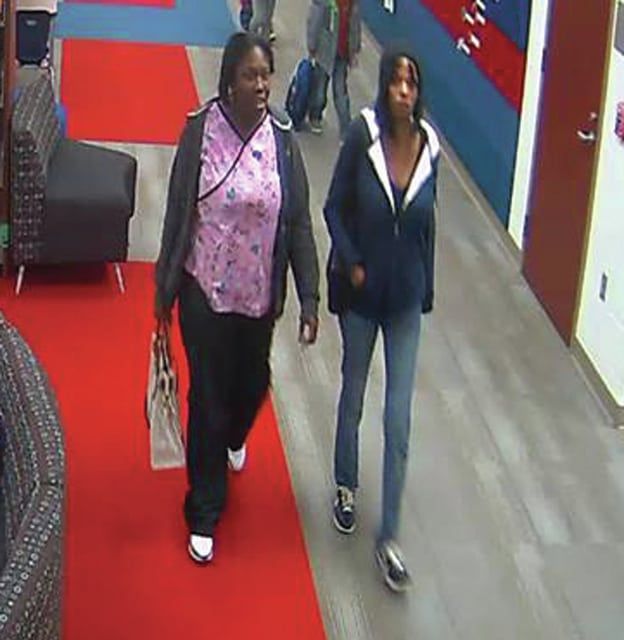 Provided photo The two alleged suspects believed to have stolen wallets from two teachers at Springcreek Elementary School on Tuesday, Dec. 1, at 3:30 p.m., according to Miami County Sheriff's Office reports.