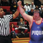 Piqua wrestlers compete at East Clinton