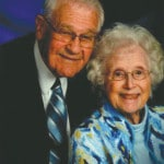 Couple celebrating 69th anniversary
