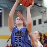 East girls give effort to be proud of