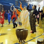 PHS students celebrate African-style
