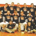 Versailles boys basketball team defeats Minster to win the MAC championship outright