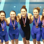 Versailles swimmers competing at state