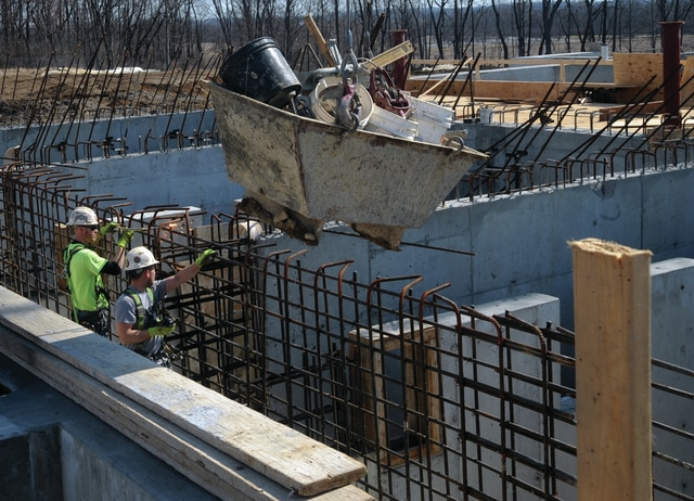 Mike Ullery | Daily Call Construction is proceeding at the new City of Piqua Water Treatment Plant project on State Route 66.