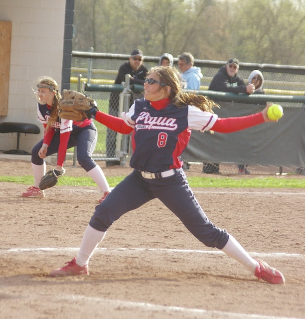 Call File Photo Megan Anderson is back for the Piqua softball team.