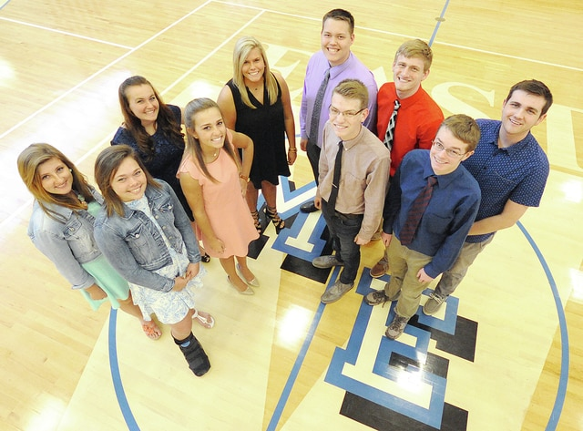 "Anthony Weber | Troy Daily News Miami East High School recently announced its 2016 Prom court. Candidates for queen and king include Emma DeWeese, Lindsey Black, Nathan Teeters, Adam Bick, Lauren Koontz, Megan Pettit, Emily Beal, Cole Garrett, Michael Werling and Kley Karadak. Prom for Miami East is this weekend at the Fort Piqua Plaza Hotel from 8-11 p.m. Saturday with a ""Fly Me to the Moon"" theme. The community is welcome to attend a promenade from 7:15-8:30 p.m. as students enter the prom event Saturday in Piqua."