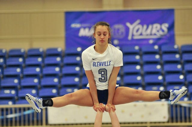 Provided Photo Ivee Kaye and Glenville State will compete in the national Acrobatics and Tumbling meet Saturday at Baylor University.