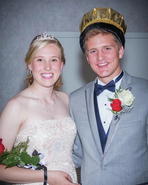 Provided photo Lehman Catholic High School Prom Princess Sidney Chapman and Prom Prince John-Henry Frantz.